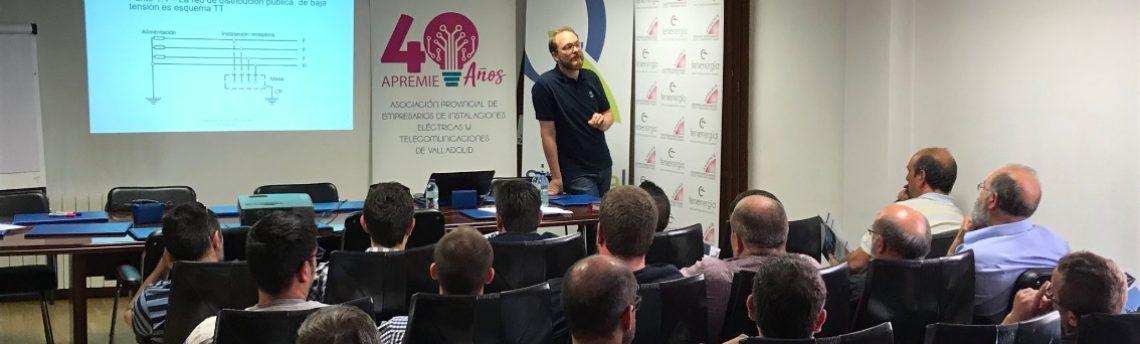 Apremie y Simecal forman a 40 instaladores de Valladolid sobre la Puesta en Tierra y los Diferenciales