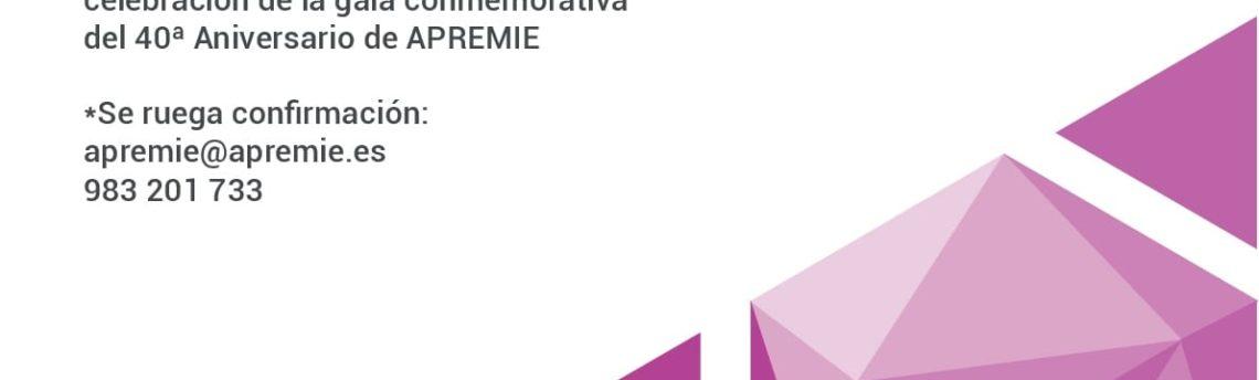 APREMIE celebra su 40 Aniversario el próximo 19 de octubre en Valladolid
