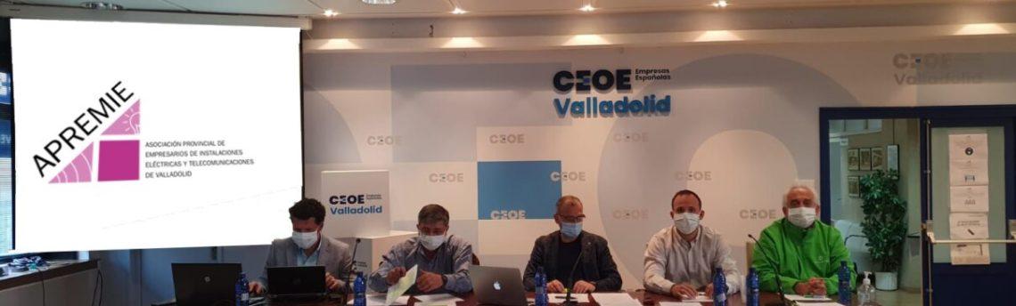 ¡Nos integramos en CEOE Valladolid!